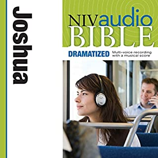 NIV Audio Bible: Joshua (Dramatized) cover art