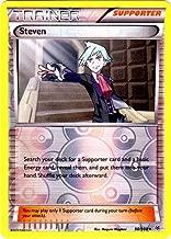 Pokemon - Steven (90/108) - XY Roaring Skies - Reverse Holo