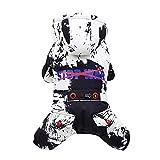 EUZeo Camo gedruckt Haustier Sweatshirt Schön Haustierbekleidung für Hündchen Kätzchen Flaumig Kapuzenpullis Kleiner Hund Kleine Katze Hundemantel Haustierjacke