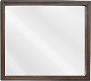 Elements MIR029-48 Compton Collection 44 Inch Bath Mirror, Painted Walnut Finish