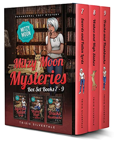 Mitzy Moon Mysteries Books 7-9: Paranormal Cozy Mystery (Mitzy Moon Mysteries Box Set Book 3) by [Trixie Silvertale]