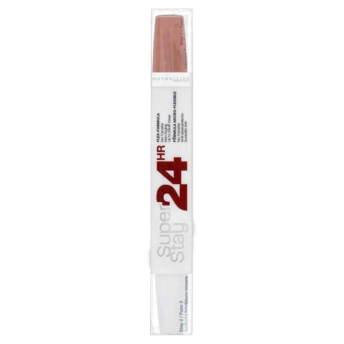 差し控える彫刻家気付くMaybelline Superstay 24 Hour Lipcolour - 611 Creme Caramel メイベリンsuperstay 24時間lipcolour - 611クリームキャラメル [並行輸入品]