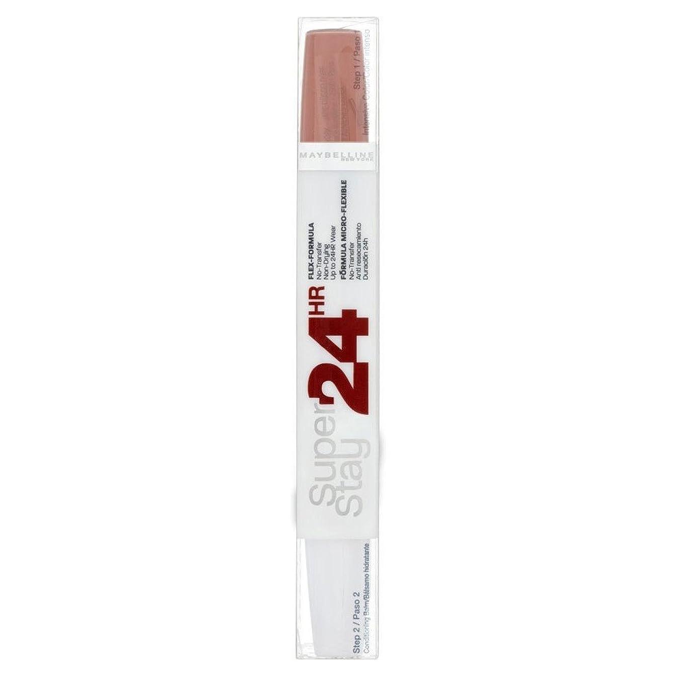 暫定確保する受け取るMaybelline Superstay 24 Hour Lipcolour - 611 Creme Caramel メイベリンsuperstay 24時間lipcolour - 611クリームキャラメル [並行輸入品]