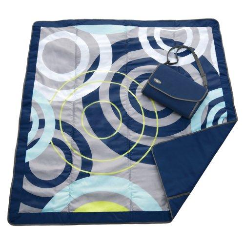 JJ Cole Outdoor Blanket, Blue Orbit, 5