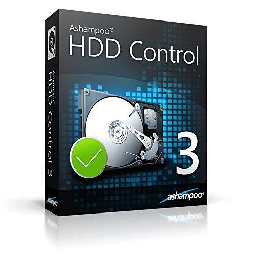 Ashampoo HDD Control 3 WIN (Product Keycard ohne Datenträger)