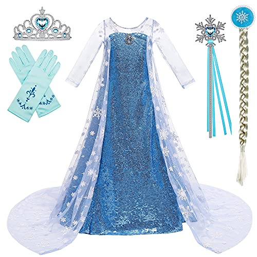 BanKids Elsa K32 - Vestido para niña (110 cm)