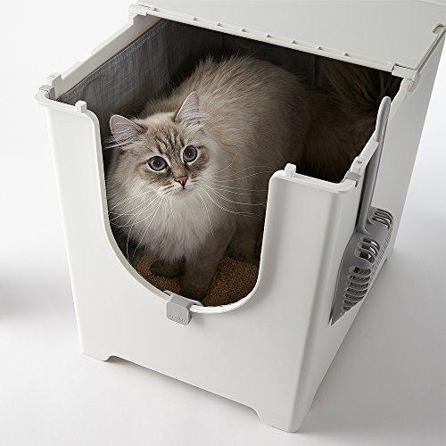 Modkat Flip Litter Box Kit Includes Scoop and Reusable Tarp Liner