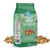 Marchio Amazon - Happy Belly - Mix di frutta tropicale e frutta secca, 4x200g