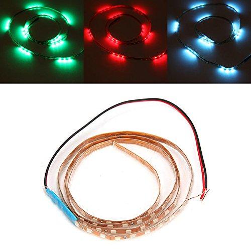 PhilMat 90cm parpadear smd 9w flexibles 3528 LED tira de luz dc impermeable 12v