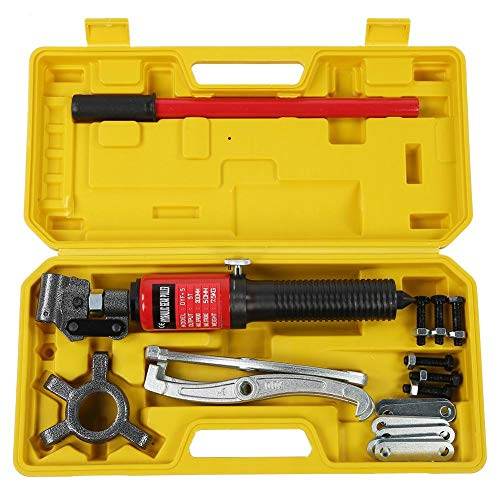 Greensen Hydraulischer Abzieher Lager Garage Werkzeug Kit 15 Tonnen Integrierte Einheit Hydraulikritzel Abzieher Kit Radlager Radlagerabzieher Arm Werkzeug