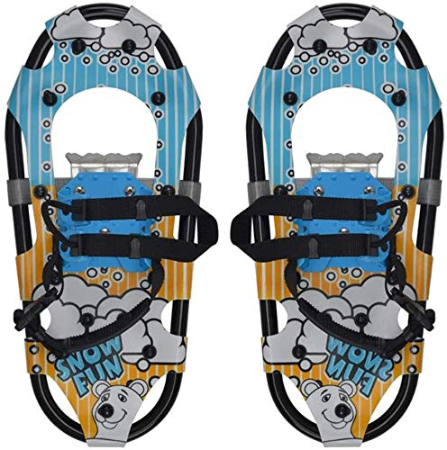 SOAR Raquetas Nieve Zapatos para Caminar de Nieve para niños: Zapatos de Nieve Snowboard, Zapatos de Escalada de esquí Alpino Ligero Mejor Regalo para niños/niños (Color : #1)