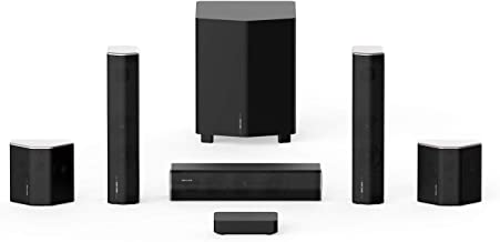 Enclave CineHome II Wireless 5.1 Home Theater Surround Sound - CineHub Edition Bundle | 24 Bit Dolby Audio & DTS | WiSA Ce...