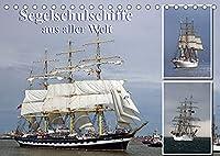 Segelschulschiffe aus aller Welt (Tischkalender 2022 DIN A5 quer): Segler auf Nord- und Ostsee fotografiert. (Monatskalender, 14 Seiten )