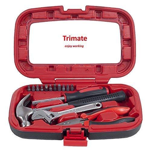 Herramientas manuales del hogar, set de herramientas de 15 p