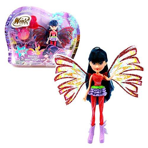 Winx Club Musa | Sirenix Mini Magic Bambola Fata con Trasformazione 12 cm
