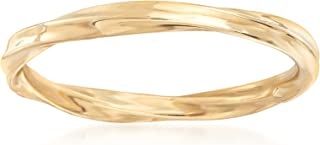 Ross-Simons 18kt Yellow Gold Twisted Ring