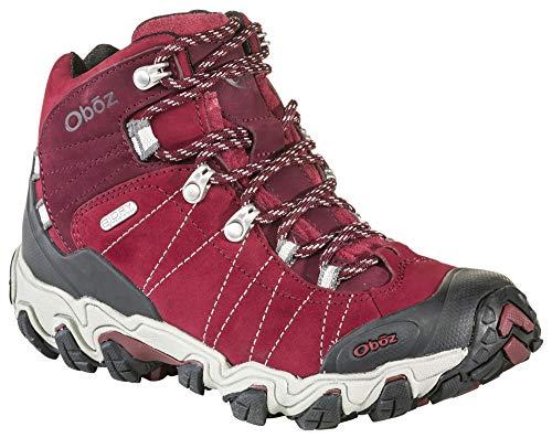 Oboz Women's Bridger Bdry Hiking Boot,Rio Red,8 M US