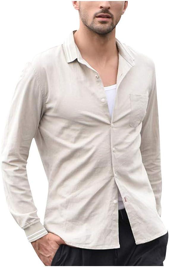 ZODOF camisa hombre camisas sport Casual Comodo Moda Retro ...