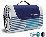 ZOMAKE Picnic Blanket Mat Water Resistant Extra Large, Outdoor Blanket with Waterproof Backing for Travel, Camping, Concerts, Park on Grass Picnic Blankets