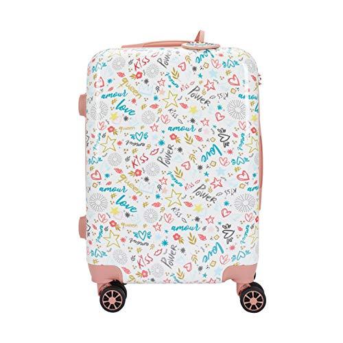 Parfois - Trolley Kiss Travel - Mujeres - Tallas S - Rosa