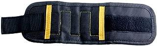 Five Magnetic Wristband Pocket Tool Belt Pouch Bag Screws Holding Working Helper