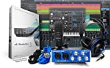 PreSonus AudioBox Studio with Headphones, Microphone, Mic Cable, USB Cable, and StudioOne Artist...
