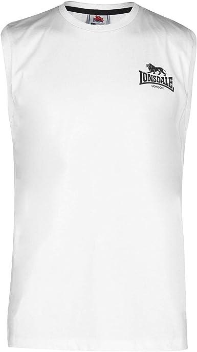 Lonsdale Hombre Sleeveless Camiseta Sin Mangas