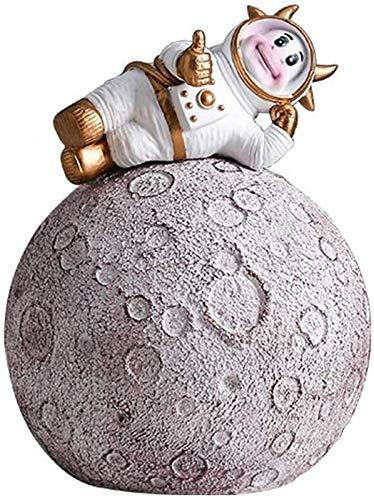 Plztou Alcancía astronauta alcancía hucha dinero banco banco artículos para niños juguetes para niños cajas de dinero en forma de dibujos animados de cumpleaños caja de almacenamiento de regalos banco