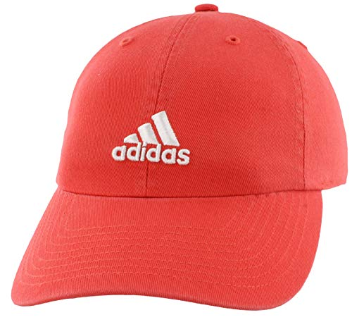 adidas Women's Saturday Cap, Real Coral/White, ONE SIZE