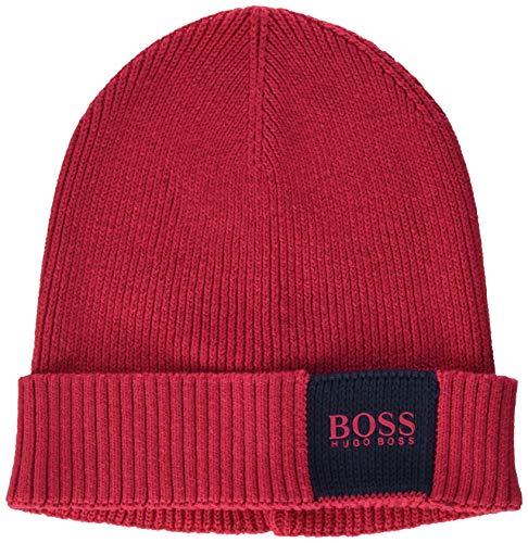 BOSS Herren 50435476 Beanie-Mütze, Medium Pink662, ONESI