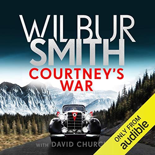 Courtney's War audiobook cover art