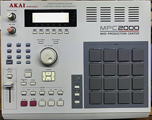 Akai MPC 2000 Sampler - Sequencer