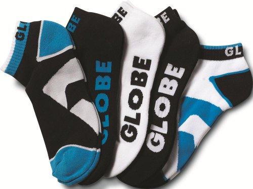 Globe Herren Destroyer Socks Ankle 5 Pack, Black, 7-11