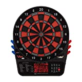 Viper by GLD Products 800 Regulation Size Electronic Dartboard, Featuring 57 Game options for up to 16 players, Enhanced Scoring Experience with Ultra-Thin Spider, and Top Quality Segments to Reduce Bounce Outs, Black