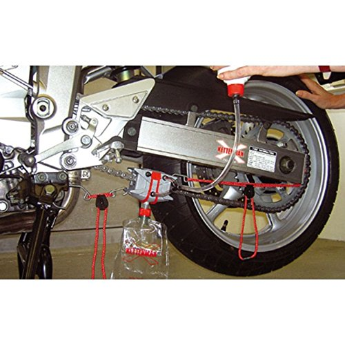 Kit pulizia pulisce deterge a fondo catena moto zx mv cbr yamaha ducati kawasaki Pulitore catena Kettenmax KettenMax Premium Light