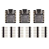 seeed studio Seeeduino XIAO Board Based on SAMD21Cortex M0+, 100% Compatible with Arduino IDE, Mounted breadboard Compatible USB Type-C (3pcs)