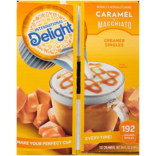192-Count International Delight Single-Serve Coffee Creamers (Caramel Macchiato)  $8.44 at Amazon