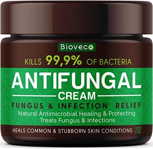 Antifungal Cream Toenail Fungus Treatment Athletes Foot Cream Made in USA Powerful Skin Fungus product image