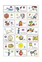 I.F.I グリーティングカード VINTAGE ヴィンテージ広告 アルファベット ALFABETO ITALIANO VP129