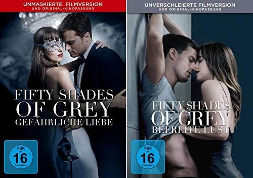 Fifty Shades of Grey - 2 Gefährliche Liebe + 3 Befreite Lust im Set - Deutsche Originalware [2 DVDs]