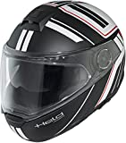 Held By Schuberth 7854-00_14_L Helmet, Black/White, L