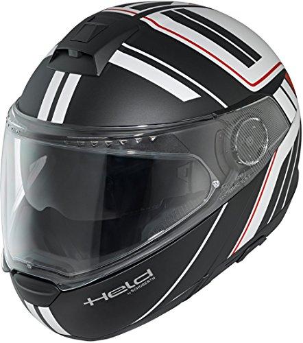 Held By Schuberth 7854-00_14_L Helmet, Black/White, L