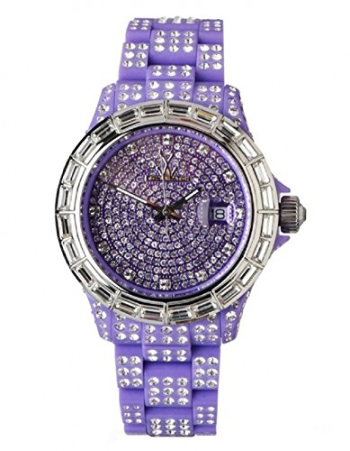 ToyWatch Total Stones Purple