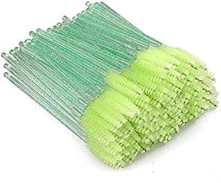 300 stycken gröna kristallögonfransar, kammar & ögonbrynsborstar, mascara ögon makeup verktyg