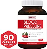 Best Blood Pressure Supports - Blood Pressure Support Supplement (Non-GMO) - Premium Natural Review