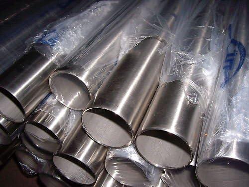 andere L/ängen bis 6 m auf Anfrage m/öglich verschiedene Durchmesser und L/ängen D=18x1,5 mm/², L/änge 100 mm - 10 cm Edelstahlrohr V2A Edelstahl Gel/änder Rohr Rundrohr geschliffen Korn 240