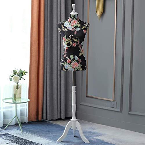 Loywe Schneiderpuppe Schaufensterpuppe Damenbüste Schneiderbüste kleiderpuppe mit Verstellbarer Höhe, Büste Torso Gr.36/38| LW6016SR