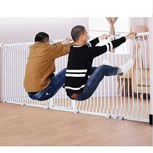 LNDDP Puerta para bebés Barras de Puertas Plegables Valla para escaleras Puertas para bebés para Puertas Puertas para niños para bebés Cerca para Mascotas Perforación Gratuita
