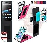 reboon Hülle für Phicomm Energy 2 Tasche Cover Case Bumper | Pink | Testsieger