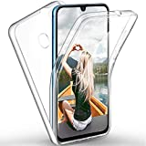 ZHXMALL 360 Degrés Full Body Protective Coque pour Huawei Honor 20 Lite Transparente Intégrale...